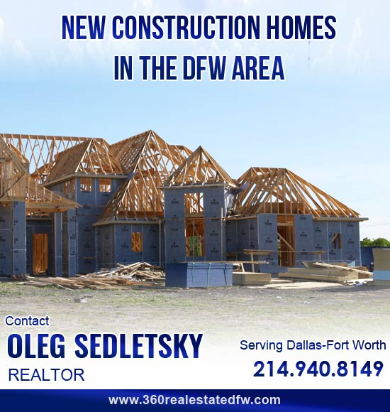 Realtor Helping to purchase New Construction Home in the Dallas-Fort Worth area