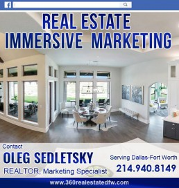 Real Estate Marketing service available in the Dallas-Fort Worth area