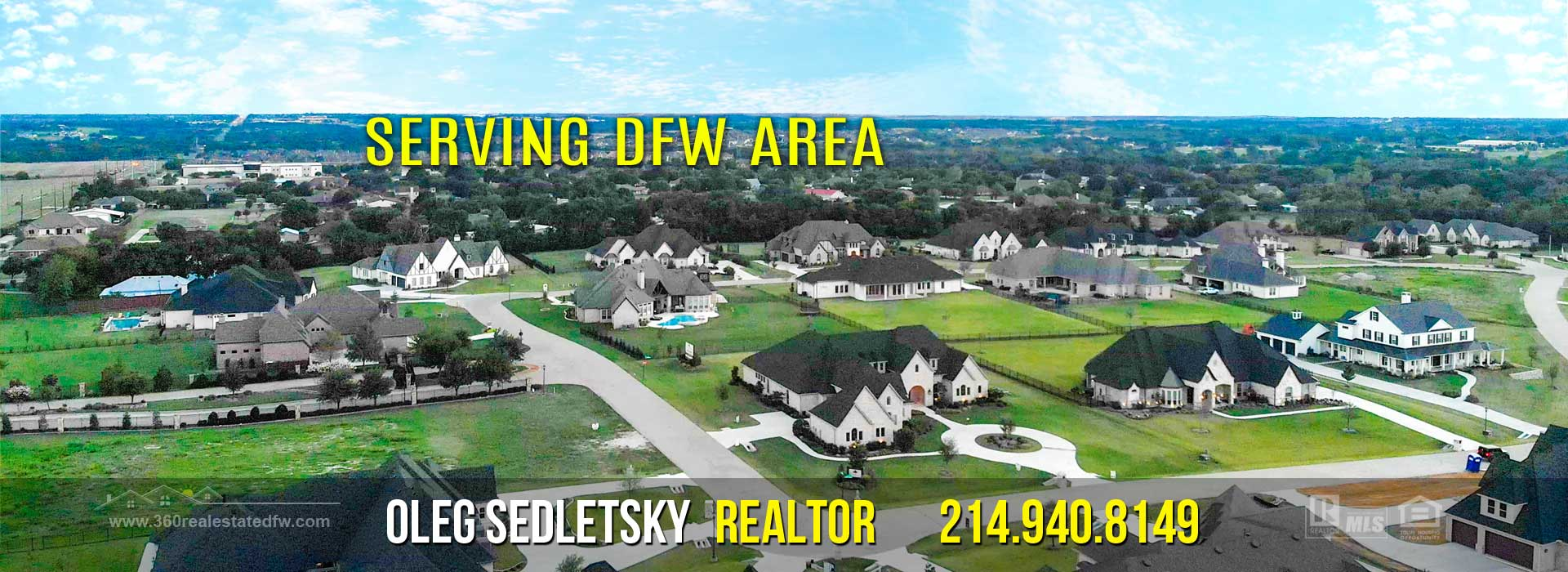 Dallas-Fort Worth Realtor - 214.940.8149 - Sell or Buy Home, Investment Property, Land/Lot, Commercial or Farm/Ranch in North Texas