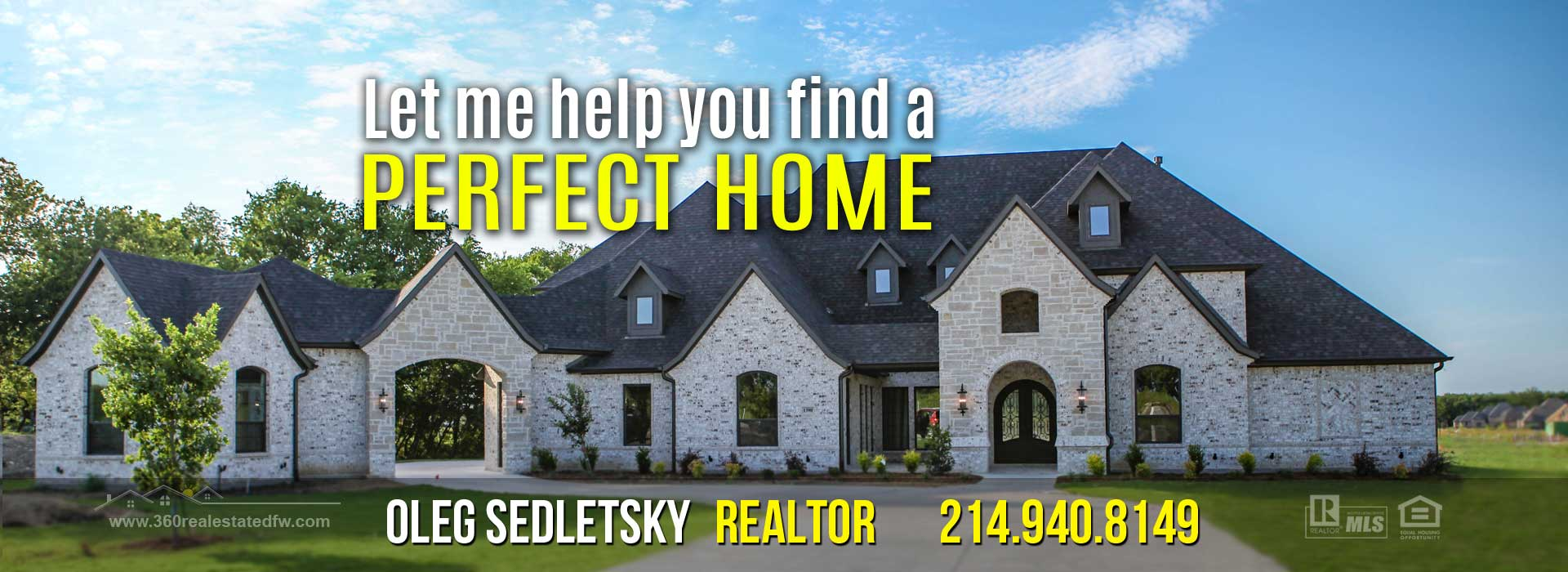 Dallas-Fort Worth Realtor - 214.940.8149 - Get Incentives when you buy a Home in the Dallas-Fort Worth area