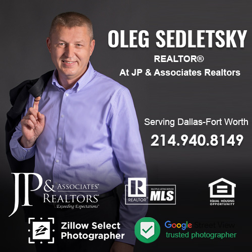 Realtor in the Dallas-Fort Worth - 214.940.8149 - Helping you to Sell or Buy Home, Investment Property, Land/Lot, Commercial or Farm/Ranch in North Texas