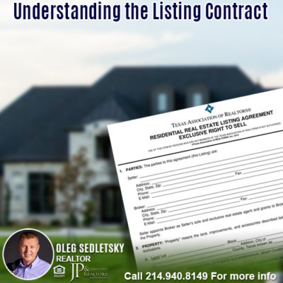 Understanding the Listing Contract