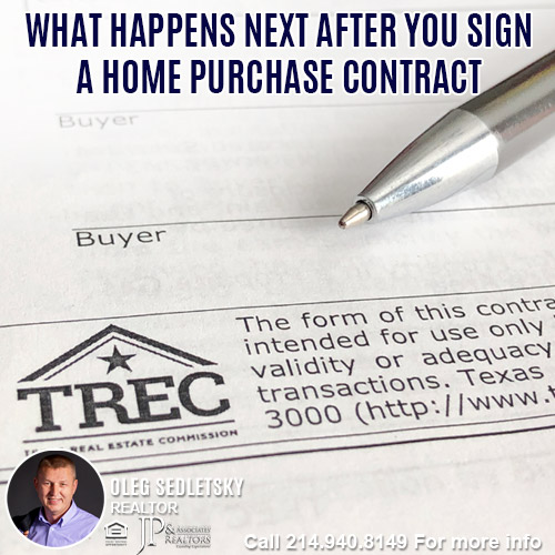 What Happens Next After Home Purchase Contract is Signed