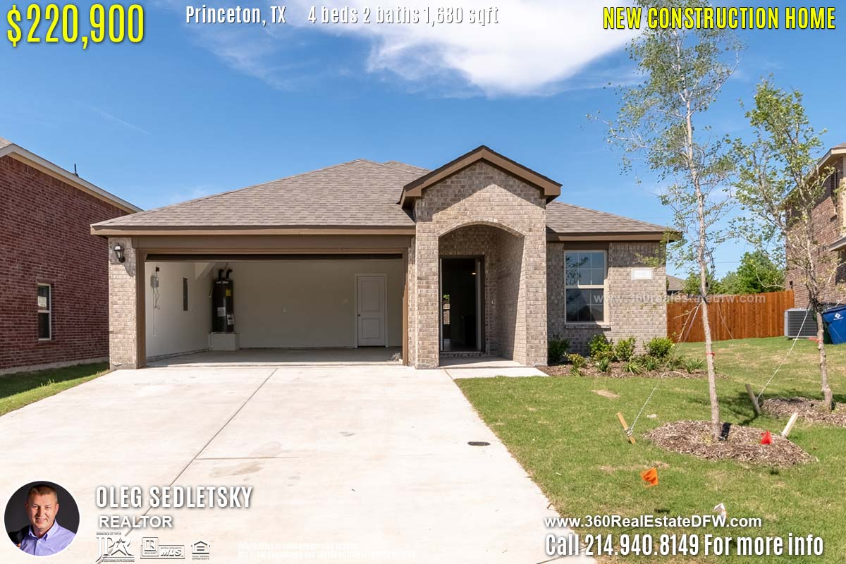 Swell 4 Bedrooms New Construction Home In Princeton Tx Available Home Interior And Landscaping Ologienasavecom