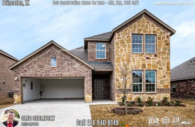 New Construction Home in Princeton, TX. March 2020. Contact Oleg Sedletsky REALTOR - 214.940.8149 $251,990 2story, 4 Beds, 3 Baths, 2 Car Garage, 2185 sqft Note! Information provided is deemed reliable, but is not guaranteed and should be independently verified. Price and Home Availability is subject to change without notice. Square footages are approximate.