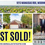House Sold in McKinney, TX with Prosper ISD – 3Bd 2Ba 2065 Sqft