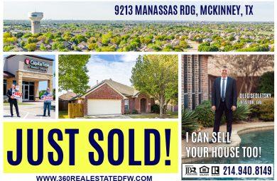 House SOLD in McKinney TX - 3Bd 2 Ba 2065 Sqft - Oleg Sedletsky Realtor - 214-940-8149