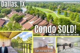 Sold. Condo with amazing golf course and lake views in Dallas, TX - Call 214-940-8149 Oleg Sedletsky Realtor.